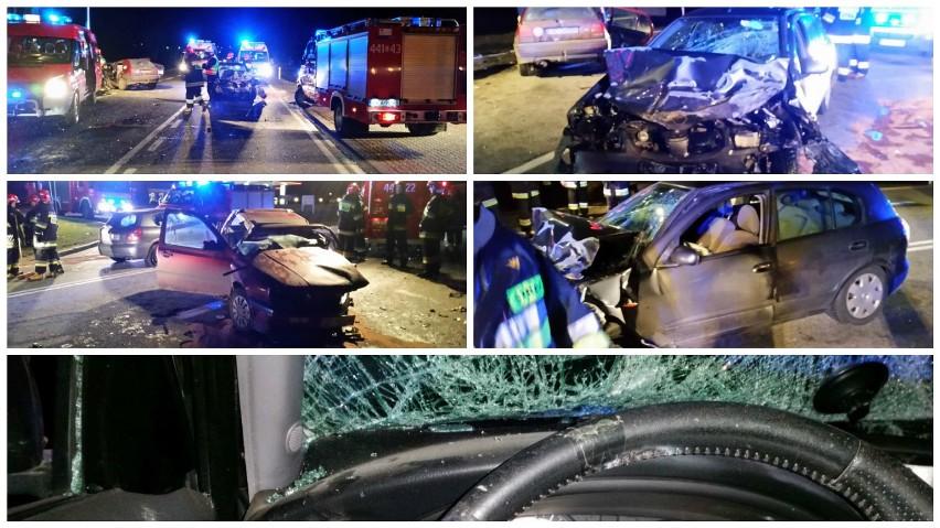 Wypadek w Borczu