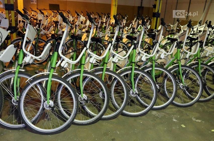 Bike_S w Szczecinie na nowych zasadach? Dodatkowych jedenaście stref postoju roweru miejskiego