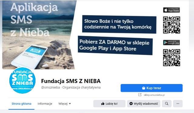 Profil Fundacji SMS z Nieba w Koszalinie
