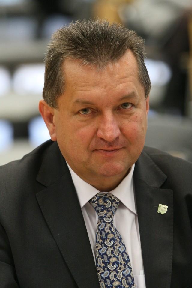 Herbert Czaja, rolnik z Kadłuba Wolnego i prezes Izby Rolniczej w Opolu