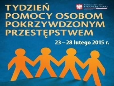 Tydzień Pomocy Osobom Pokrzywdzonym Przestępstwem trwa od 23 do 28 lutego.