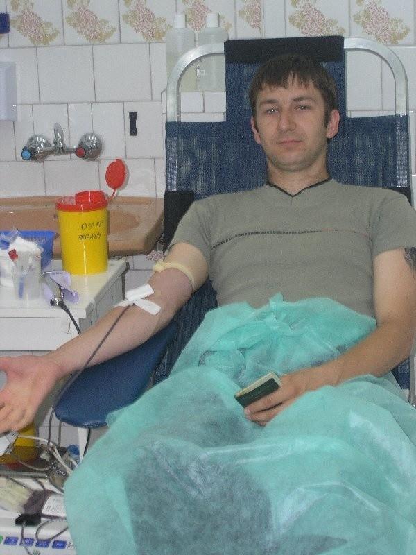Fabian Zieliński może w tej chwili ratuje komuś  życie