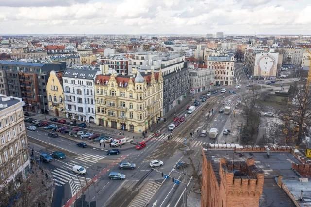 Miasto szykuje przebudowę skrzyżowania ulic Dubois i Drobnera we Wrocławiu.