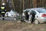 Groźny wypadek pod Wrocławiem. Trzy osoby ranne