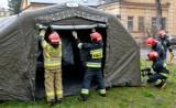 Od pół roku podkarpaccy strażacy pilnują... pustych szpitali polowych