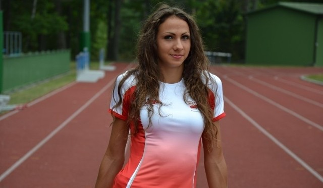 Magdalena Gorzkowska jeszcze jako lekkoatletka