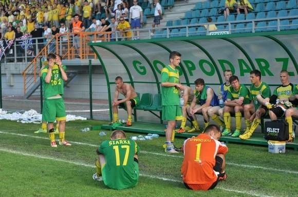 Siarka Tarnobrzeg drugoligowy sezon zakończyła na dnie tabeli.
