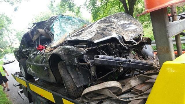 Do wypadku doszło 29 lipca br. koło Małomic