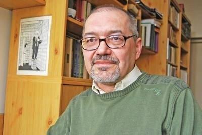 Prof. Roman Mazurkiewicz z Instytutu Filologii Polskiej Uniwersytetu Pedagogicznego w Krakowie, twórca i redaktor serwisu Staropolska.pl. Fot. Paweł Stachnik