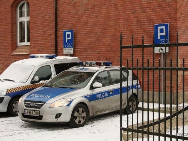 Za zaparkowanie radiowozu na miejscu dla niepełnosprawnych policjant dostał mandat.