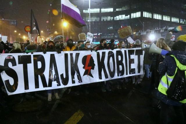 Strajk Kobiet, luty 2021, Wrocław