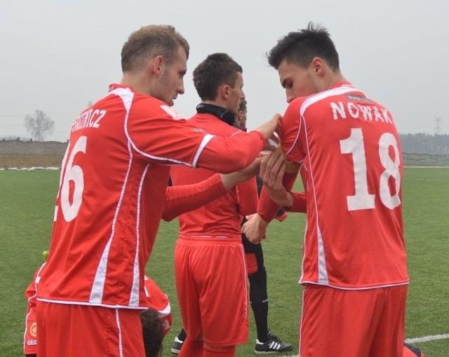 Krystian Nowak został najmłodszym kapitanem w I lidze.