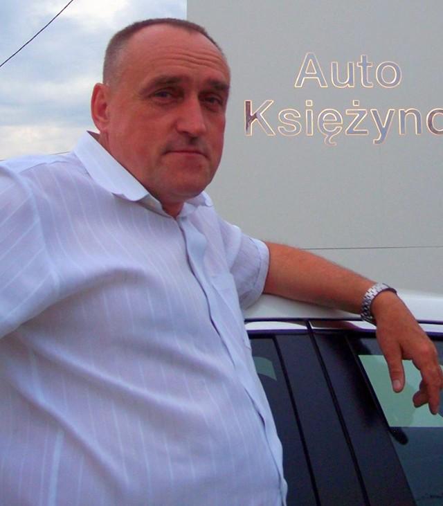 Zbigniew Gołembiewski, Auto Księżyno