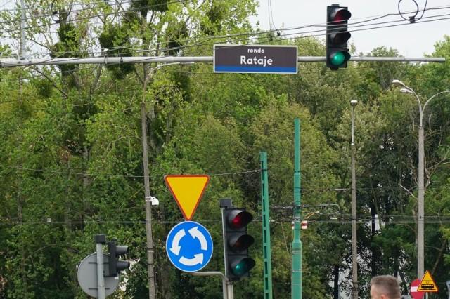 Zmiana organizacji ruchu na rondzie Rataje. Ważne informacje dla kierowców