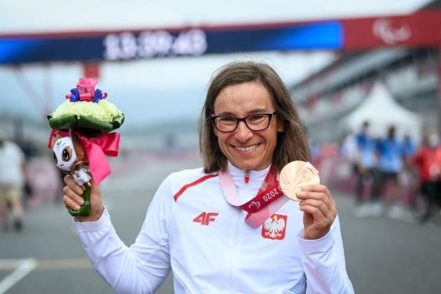Renata Kałuża wywalczyła brąz igrzysk paraolimpijskich w Tokio