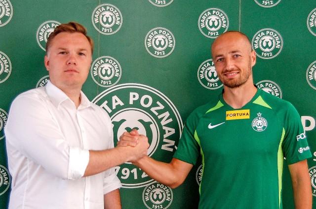 Łukasz Trałka był chyba największym transferem w całej Fortuna 1. Lidze. Zawodnik jest nieoceniony dla Warty Poznań i w niedzielę strzelił swojego pierwszego gola w zielonych barwach.