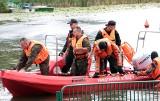 Strażacy wojskowi ćwiczą z kolegami z Państwowej Straży Pożarnej w Grudziądzu [zdjęcia]