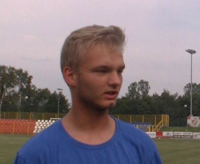 Maciej Staniaszek, nowy zawodnik Gryfa.
