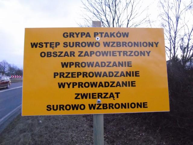 Takich tablic w Studzieńcu nie ma i oby nie było