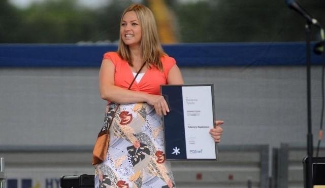 Wybory samorządowe 2014: Aktorka Katarzyna Bujakiewicz startuje z komitetu Ryszarda Grobelnego