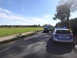 Długobórz. Wypadek na drodze krajowej 63. Zderzenie lawety z osobową toyotą. 31-latka trafiła do szpitala