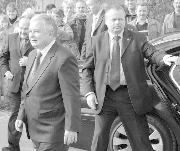 Lech Kaczynski w zdjeciach Dariusza DelmanowiczaPrezydent Lech Kaczynski (1949-2010) kilkakrotnie gościl na Podkarpaciu.