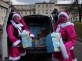 Mikołajki na różowo. Ogromne wsparcie dla najmłodszych pacjentów Szpitala Miejskiego w Gliwicach