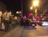 Wypadek na ul. Zachodniej. Samochód wjechał w przystanek. Kierowca i pasażerka uciekli!