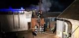 Moszczenica Wyżna pożar budynku gospodarczego. W akcji aż 55 strażaków! [ZDJĘCIA]
