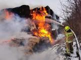Chciał być strażakiem, jest podejrzany o podpalenia! Policjanci z Malborka zatrzymali 19-latka. Mężczyzna usłyszał już zarzuty