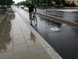 Powstanie nowy odcinek drogi rowerowej wzdłuż Grunwaldzkiej. Powstanie w 2021 roku