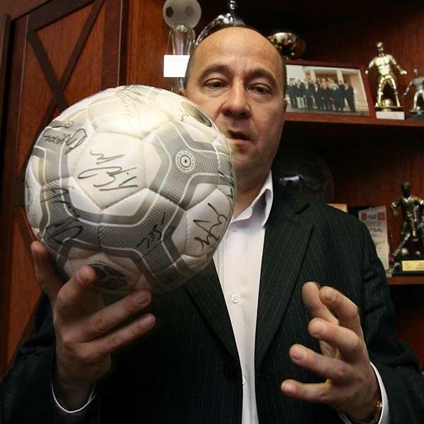 Kazimierz Greń: - Trzeba rozprawić się z problemem korupcji z piłce nożnej.