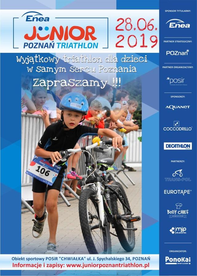 Piątkowe zawody dla młodych triathlonistów to największa impreza tego typu w Polsce