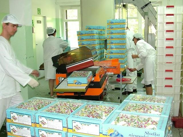 Fabryka słodyczy Słowianka w 2004 roku