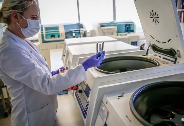 Ofiara śmiertelna koronawirusa w szpitalu w Zgierzu.