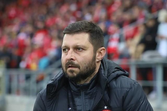 Trener Marcin Kaczmarek ma nad czym myśleć