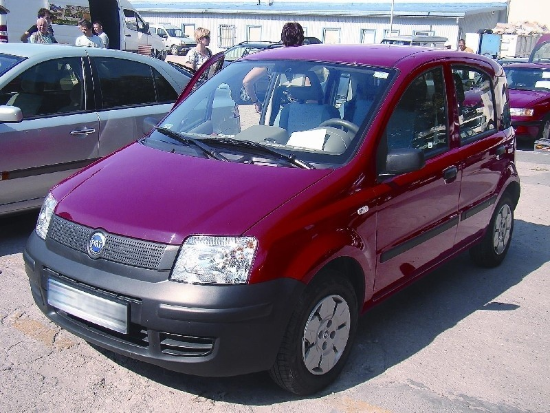 Fiat panda, rocznik 2003, kupiona w Polsce, silnik 1,1 litra, przebieg 35 tys. km, cena 12.000 zł (fot. Czesław Wachnik)