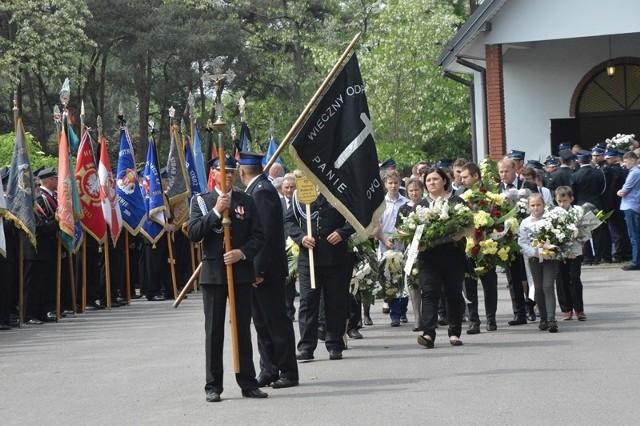 Pogrzeb druha Andrzeja Bzdurskiego