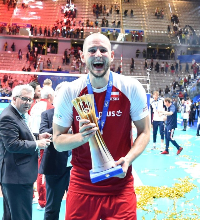 Bartosz Kurek został uznany najlepszym zawodnikiem mistrzostw świata.