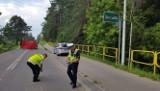 Suwałki. Tragiczny wypadek na ul. Reja. Motocyklista zginął na miejscu