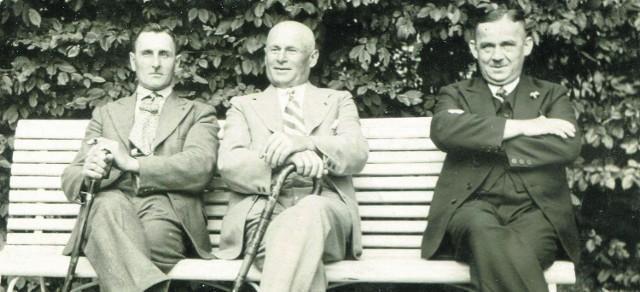 Ślązoki na spacerze, pogodna niedziela, 14 lipca 1935 roku