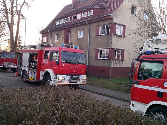 Do tragicznego pożaru doszło w Szprotawie przy ul. Gdańskiej.
