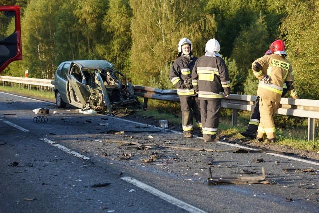 Wypadek w miejscowości Wąsocz w gminie Szubin.