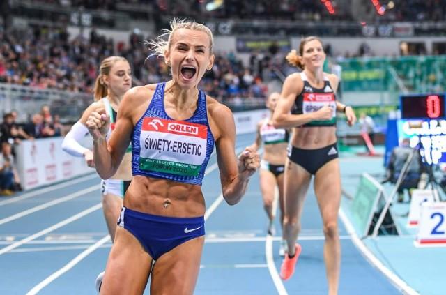 Justyna Święty-Ersetic, złota i srebrna medalistka igrzysk olimpijskich w Tokio, będzie jedną z gwiazd LOTTO Silesia Memoriału Kamili Skolimowskiej w Chorzowie