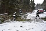 Tatry. Dojazd do Morskiego Oka zawalony połamanymi drzewami [ZDJĘCIA]