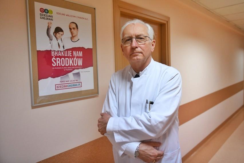 Profesor Jacek Wachowiak myśli o szybkim zbudowaniu kliniki...