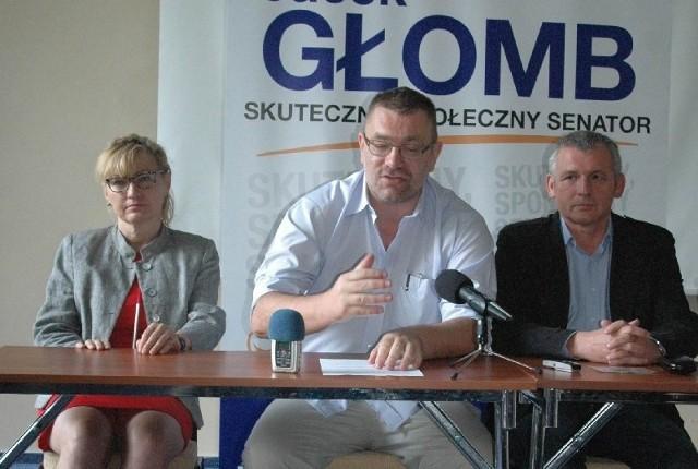 Komitet poparcia Jacka Głomba tworzą miedzy innymi Zbigniew Rybka i Bożena Czekańska - Smykalla