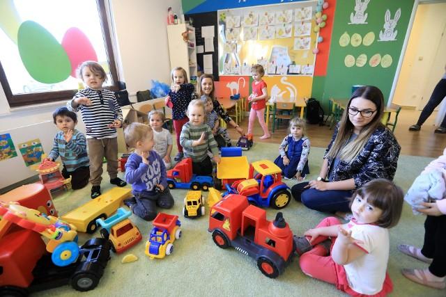 Miasto zapowiada, że dla każdego przedszkolaka znajdzie miejsce w swoich placówkach