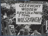 50. rocznica strajków łódzkich w lutym 1971 roku. Jubileuszowa wystawa ZDJĘCIA Zobacz, jak wyglądały łódzkie strajki