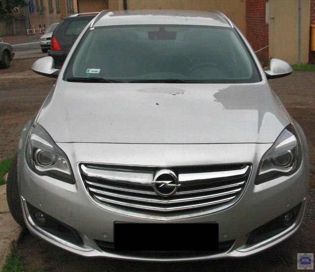 Opel insignia został odzyskany i już zwrócony właścicielowi.